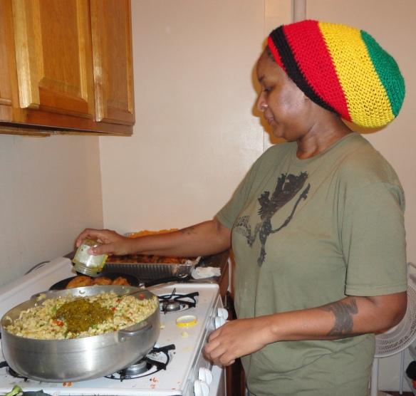 Carla - Kitchen - macaroni salad