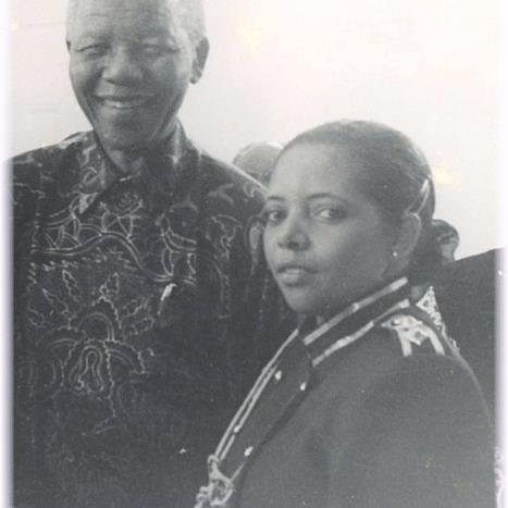 Bernadette and Nelson Mandela