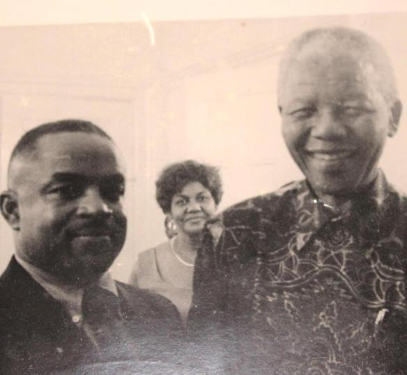 Cyril and Nelson Mandela