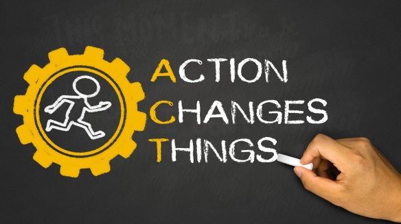 action changes things concept