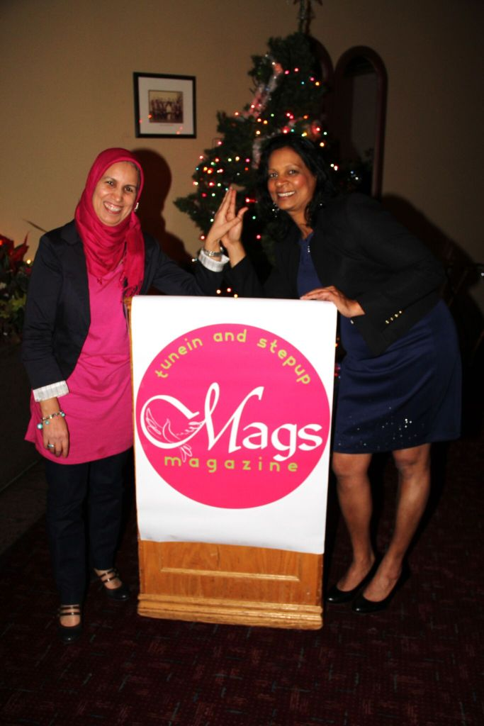 Mags stand with Fouzia