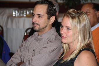 Nubias son and fiance