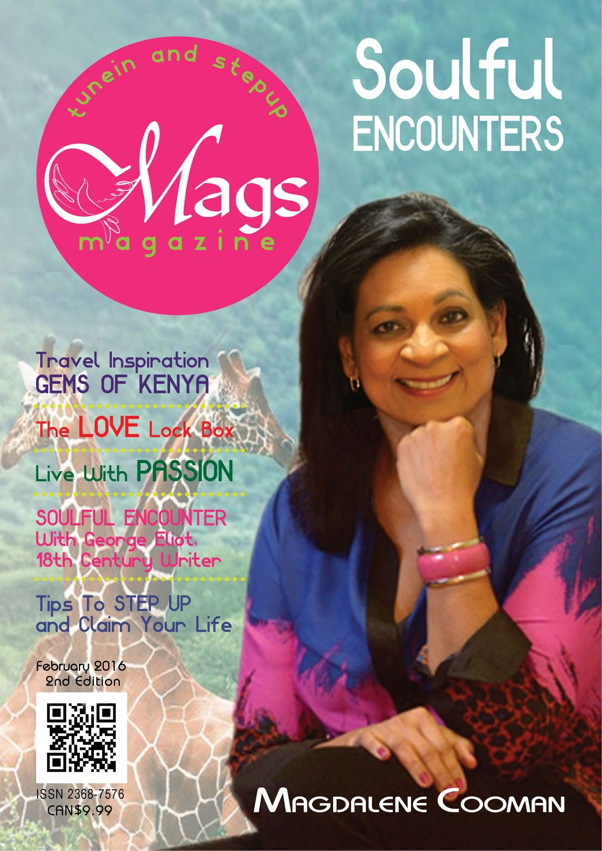 New Release: Soulful Encounters, 2nd Edition of Mags Magazine