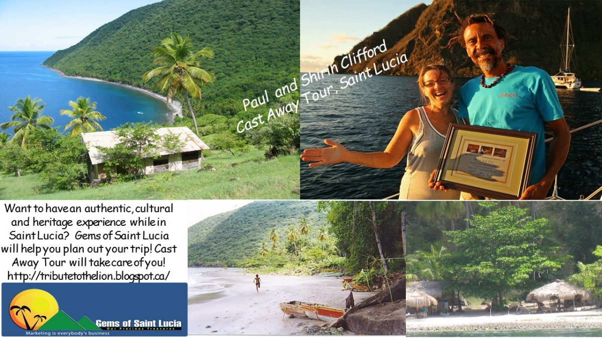 Thanks to Cast Away Tour, Saint Lucia, A Proud Supporter of Mags Magazine