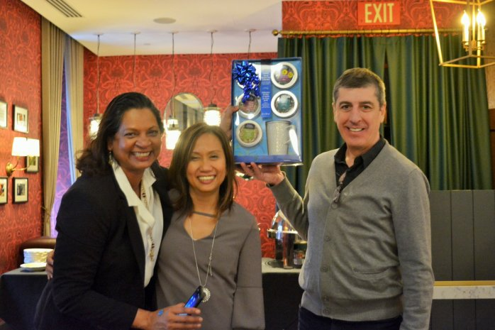 Gemma, Aranjit and I